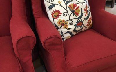 armchair slipcover makeover